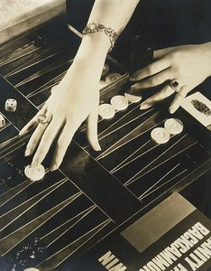 The Play of Modern Hands (hands of Ilka Chase, Backgammon), 1931 by Edward Steichen