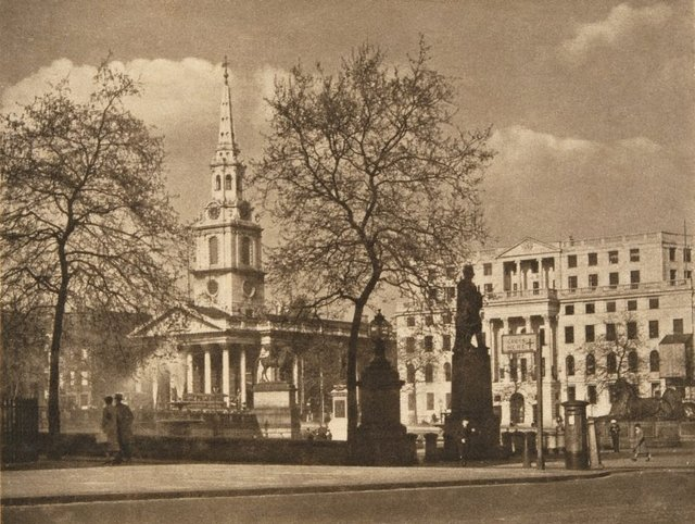 An image of St Martin in the fields