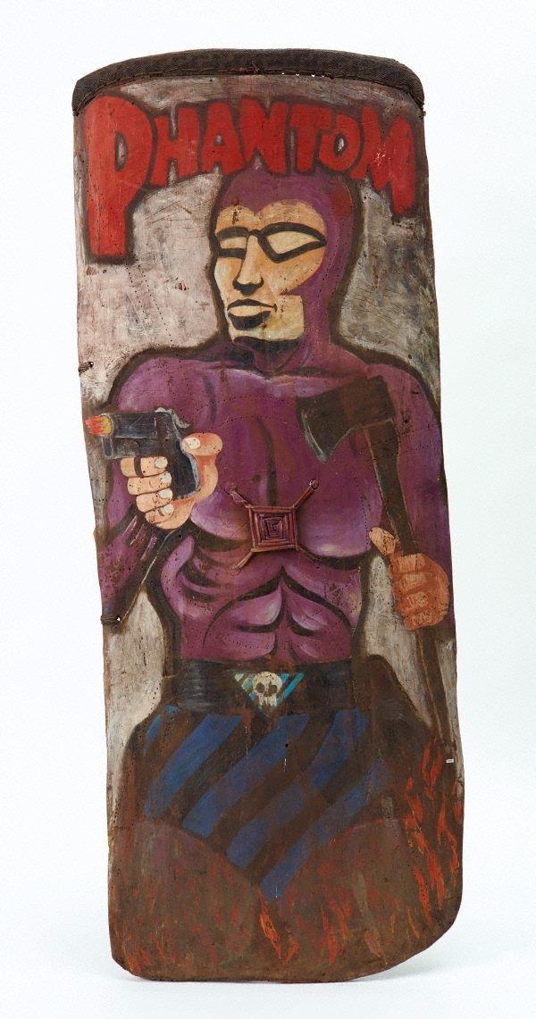 An image of Kumba reipe (fighting shield)