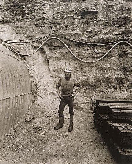 An image of Steve Blackwell, loaderman