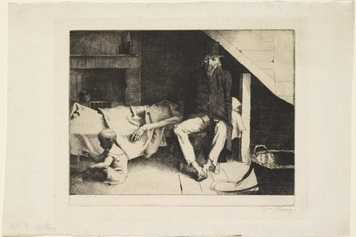 An image of Poverty by William Strang