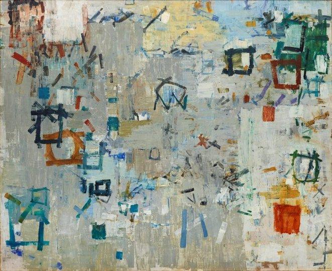 AGNSW collection Yvonne Audette Italia benvenuto (1957) 238.2015