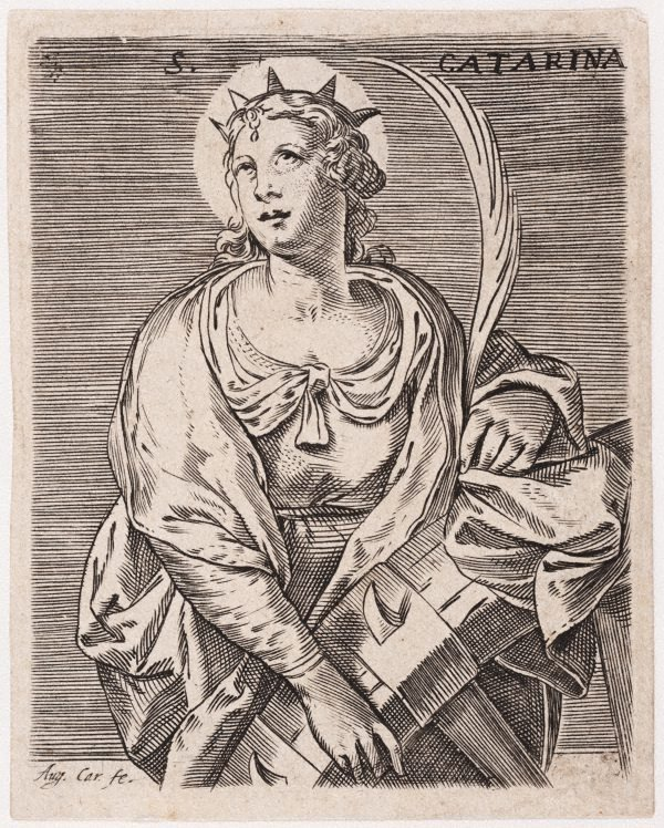 An image of Saint Catherine of Alexandria