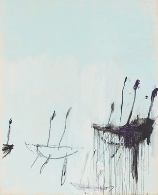 Alternate image of Three studies from the Temeraire by Cy Twombly