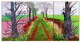 AGNSW collection David Hockney A closer winter tunnel, February-March (2006) 239.2007.a-f