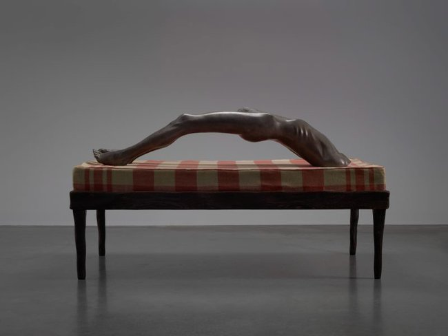 AGNSW collection Louise Bourgeois Arched figure 1993, cast 2010