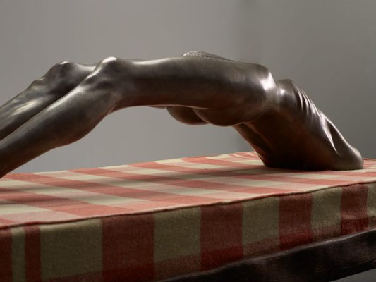 Alternate image of Arched figure by Louise Bourgeois