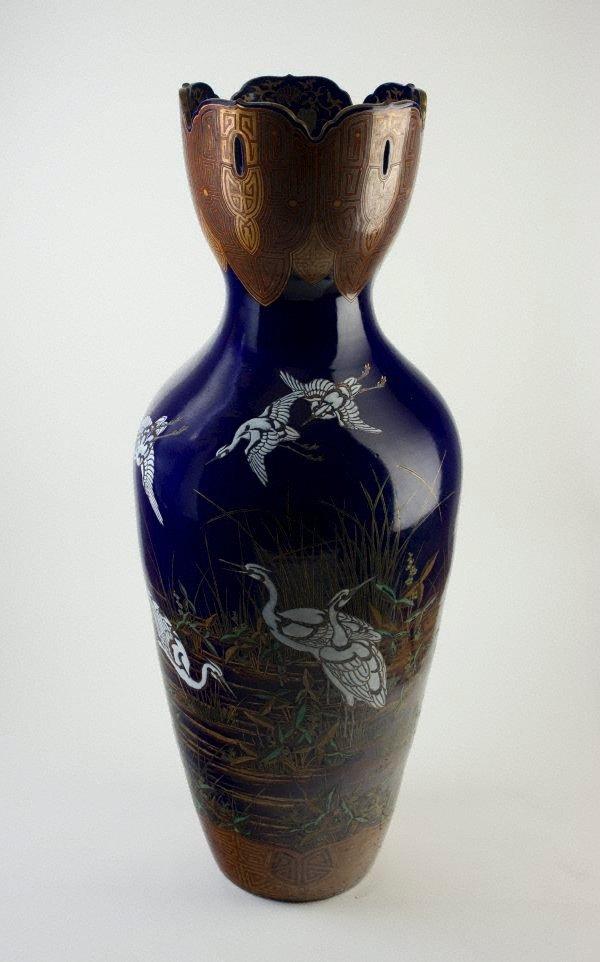 An image of Stork vase