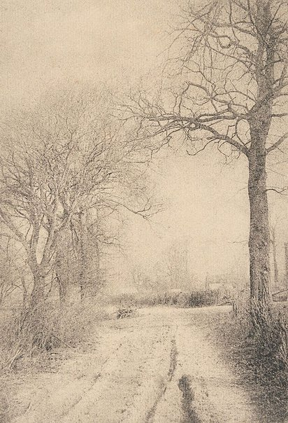 An image of Winter's charm by Robert Demachy