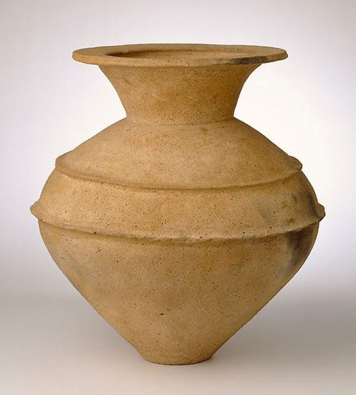An image of Ceremonial jar by Yayoi ware