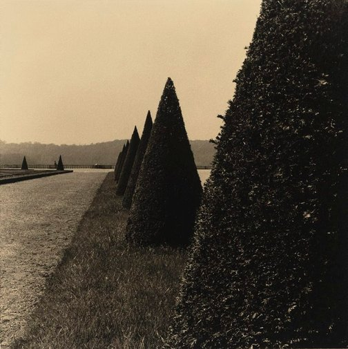 An image of Versailles, France, April 1976 by Fiona Hall
