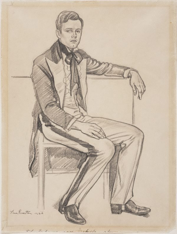 An image of Portrait of a young man