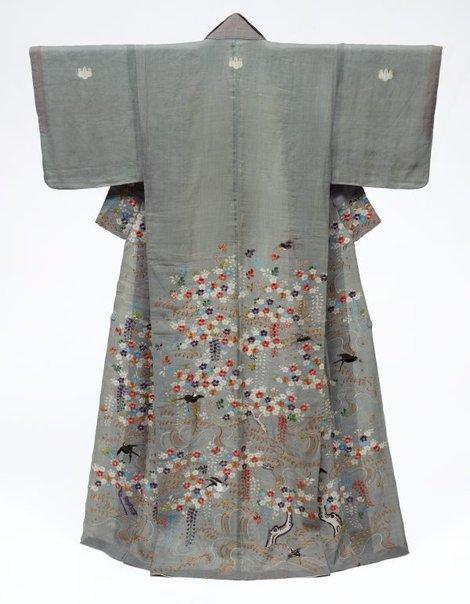 An image of Summer kimono (katabira) by