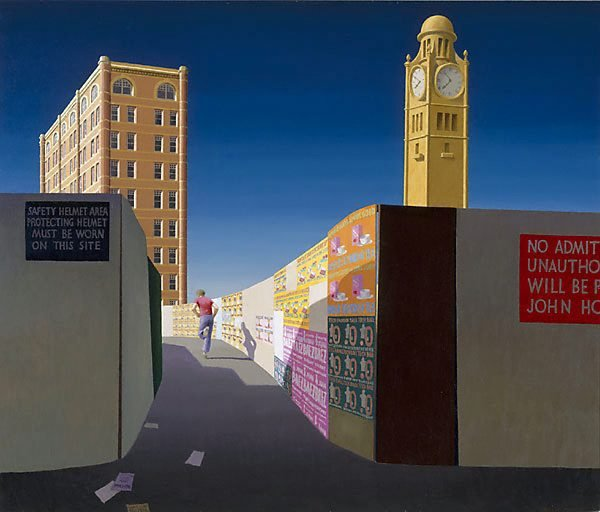 AGNSW collection Jeffrey Smart Central Station II 1974-1975