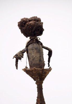 Alternate image of Timpsonk (cult mask) by Mendi people