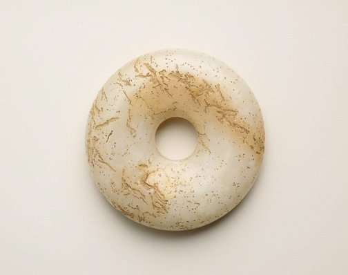 An image of Small jade disc by