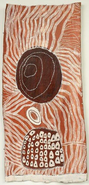 An image of Baratjala by Noŋgirrŋa Marawili