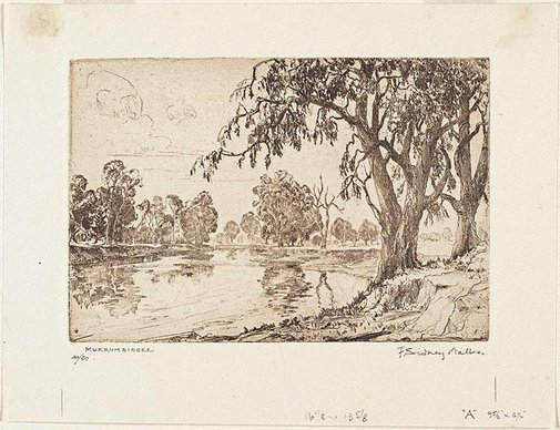 An image of Murrumbidgee by F Sidney Walker