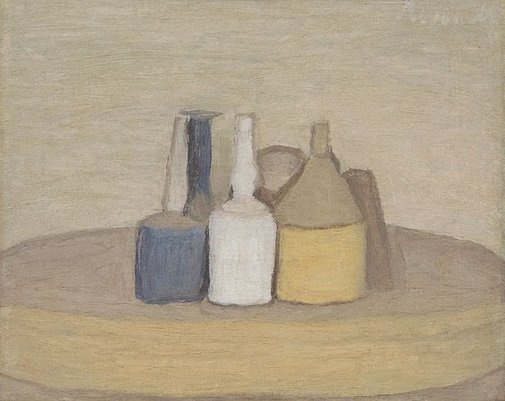 An image of Still life by Giorgio Morandi