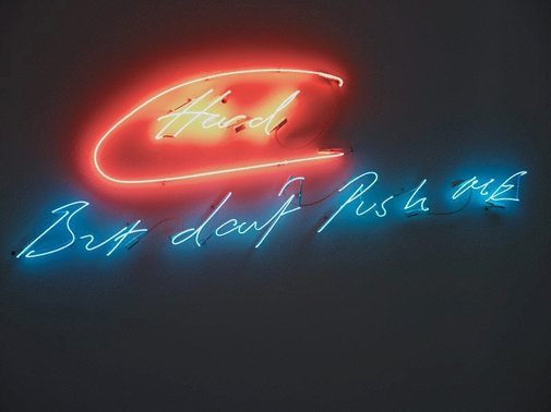An image of Hard by Tracey Emin