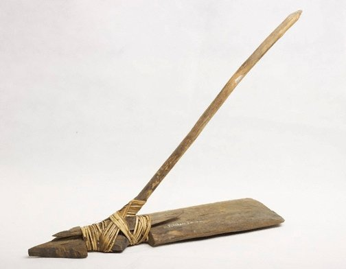 An image of Mattock for digging barets (ditches) by