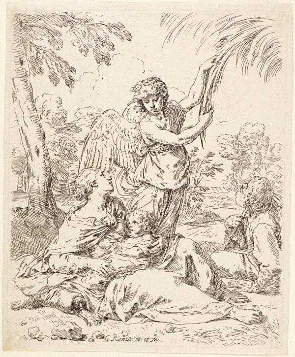 An image of The rest on the flight into Egypt