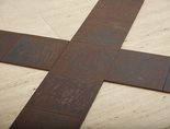 Alternate image of Crucis by Carl Andre