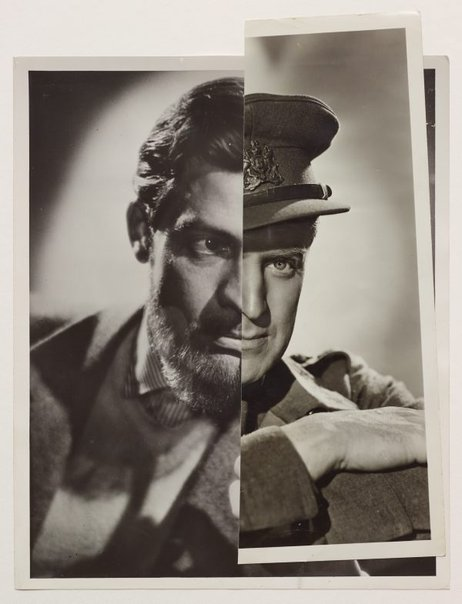 An image of He (Film Portrait Collage) XXVI by John Stezaker