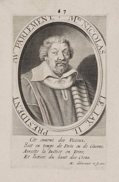An image of Nicholas Le Jay II by Michel Lasne