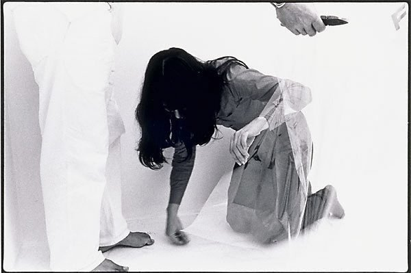 An image of Black Box: Theatre of Self Correction, Part I. Performances 1-6 [John's view], 3rd Biennale of Sydney, April-May 1979