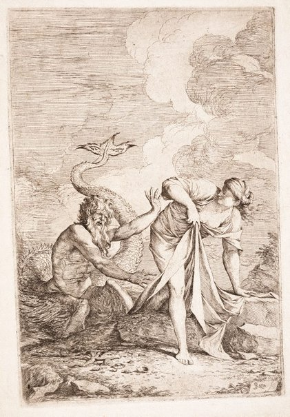 An image of Glaucus and Scylla by Salvator Rosa