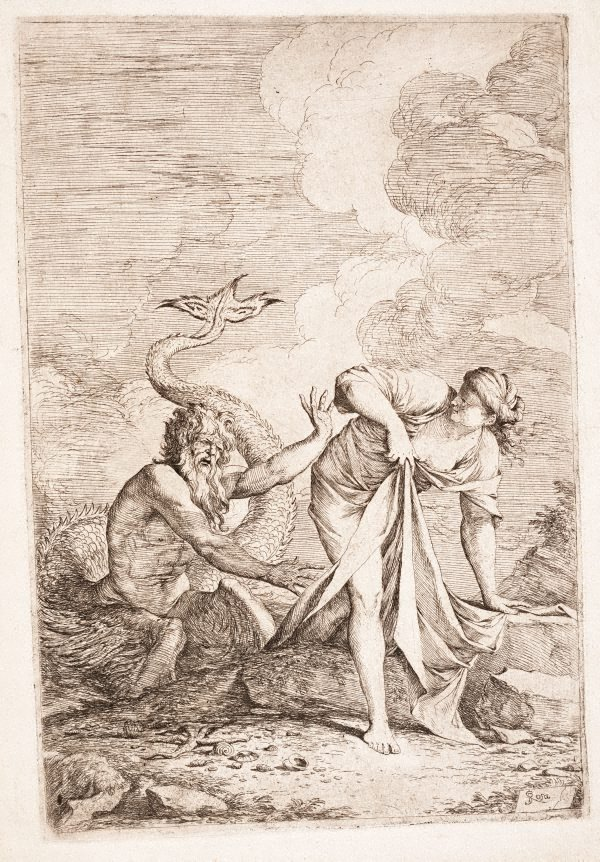 An image of Glaucus and Scylla