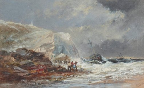 An image of Shipwreck by William James Durant Ready