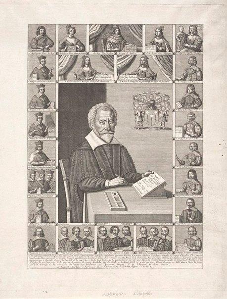 An image of Jacque's d'Auzolles, Seigneur de Lapeyre by Jean Picart