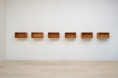 An image of Untitled by Donald Judd