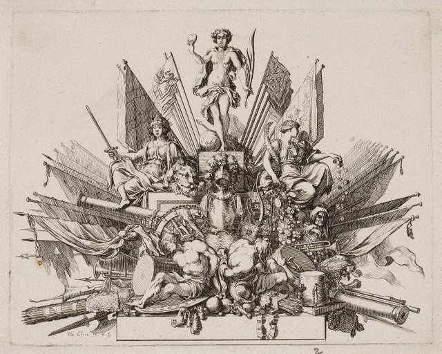 An image of Tailpiece for the funeral oration of Turenne