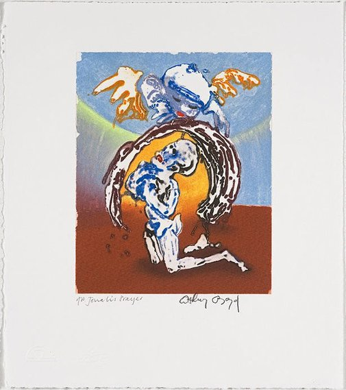 An image of Jonah's prayer by Arthur Boyd
