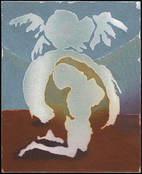 An image of Colour plate for 'Jonah's prayer' by Arthur Boyd
