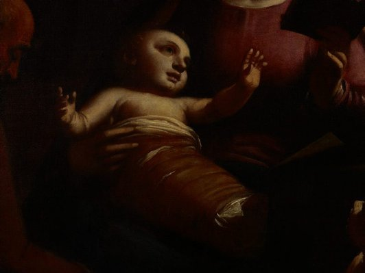 Alternate image of Holy Family with St John the Baptist by Luca Cambiaso