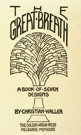 An image of The great breath; a book of seven designs by Christian Waller