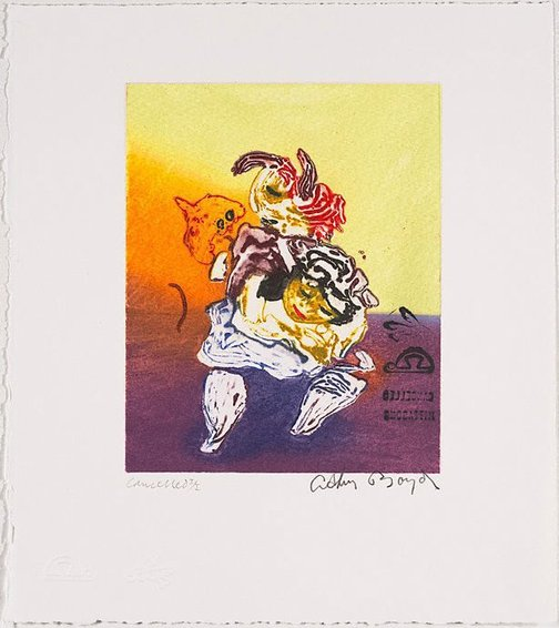 An image of Cancelled proof for 'Jonah's dream' by Arthur Boyd