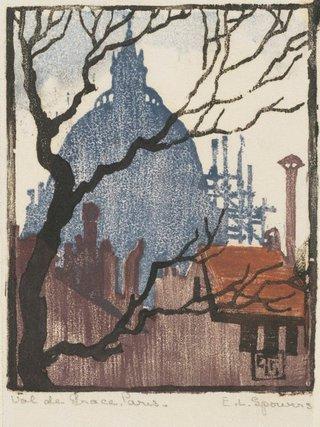 AGNSW collection Ethel Spowers Val de Grace, Paris 1923