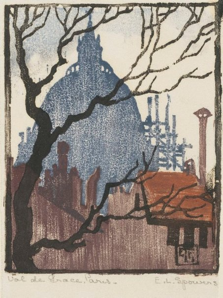 An image of Val de Grace, Paris by Ethel Spowers