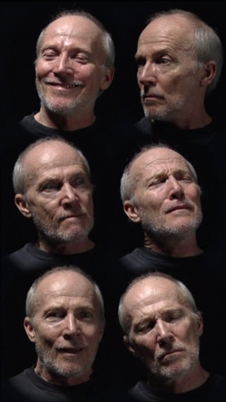 AGNSW collection Bill Viola Six heads 2000