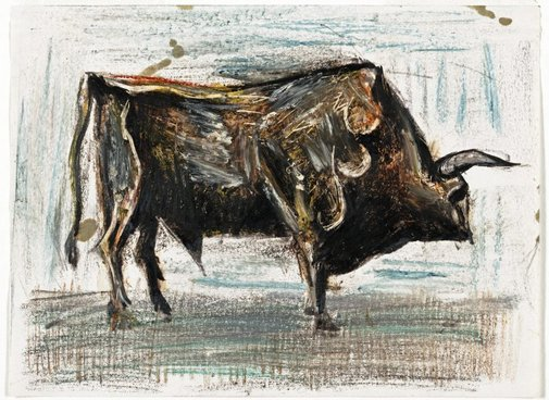 An image of Bull by Albert Tucker