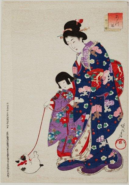 An image of Atsuma: Tokyô by Toyohara (Yôshû) CHIKANOBU