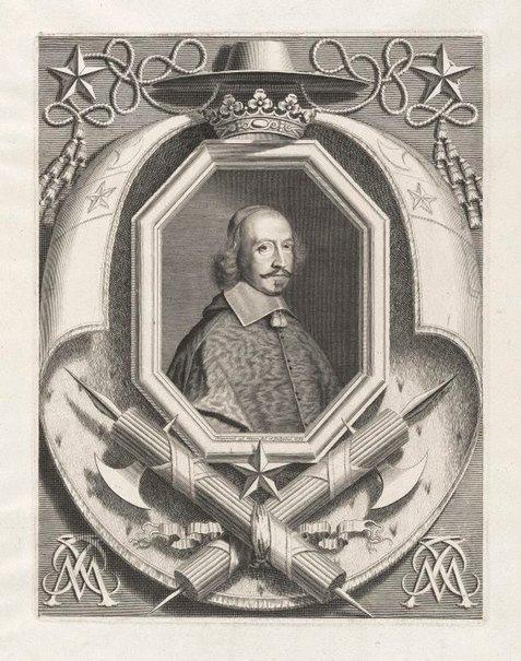 An image of Cardinal Mazarin by Robert Nanteuil