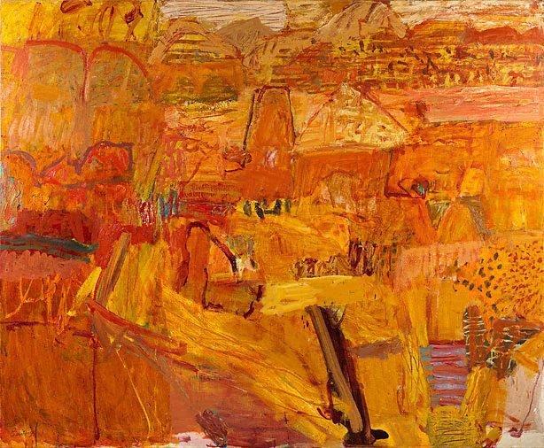 Arkaroola landscape, (2004) by Elisabeth Cummings