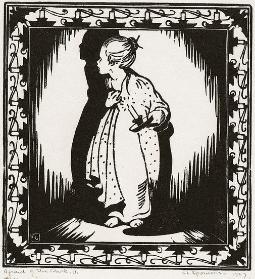 An image of Afraid of the dark by Ethel Spowers