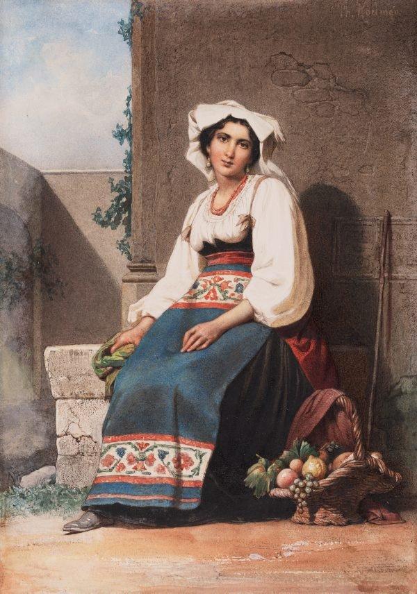 An image of Italian girl